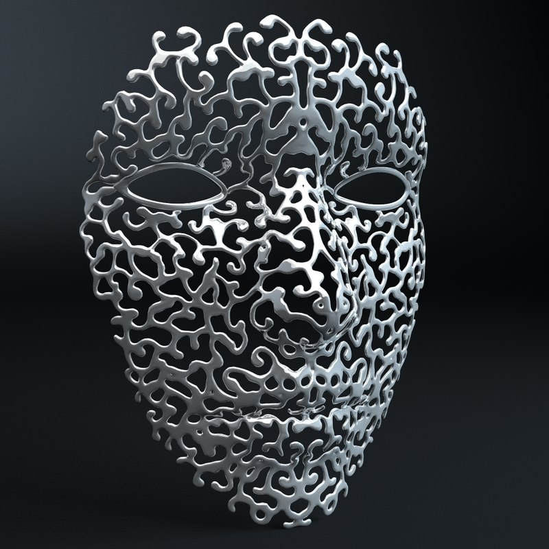ornamental face mask