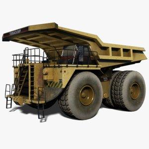 maya heavy dump truck