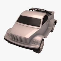 3d model pickup