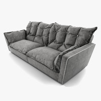 sorrento sofa baxter 3d model