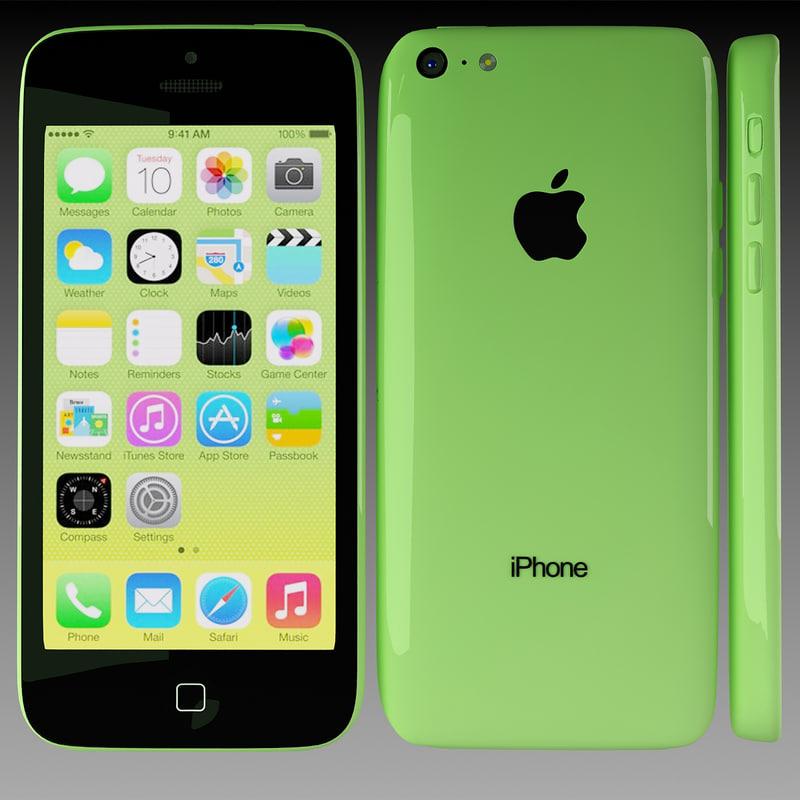max apple iphone 5c green