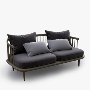 3d fly sofa seat