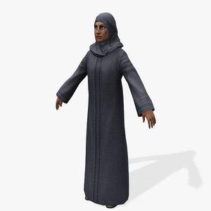 3d games arabic civilians female model