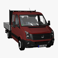 VW Crafter 50 Crewcab Pickup 2011