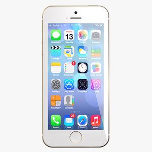 3d new iphone 5 s model
