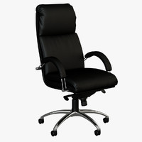3d max nadir office armchair