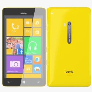 nokia lumia tab concept 3d model