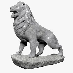 stone lion model