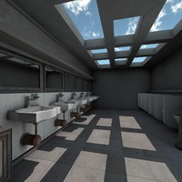 public toilet room washroom max