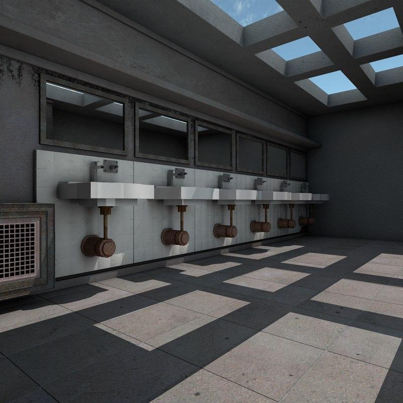 public toilet room washroom max