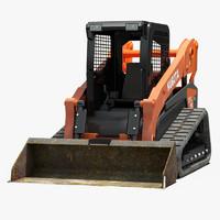 3d model kubota svl75 excavator