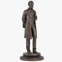3d model statue abraham