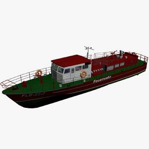 23 boat 3d model