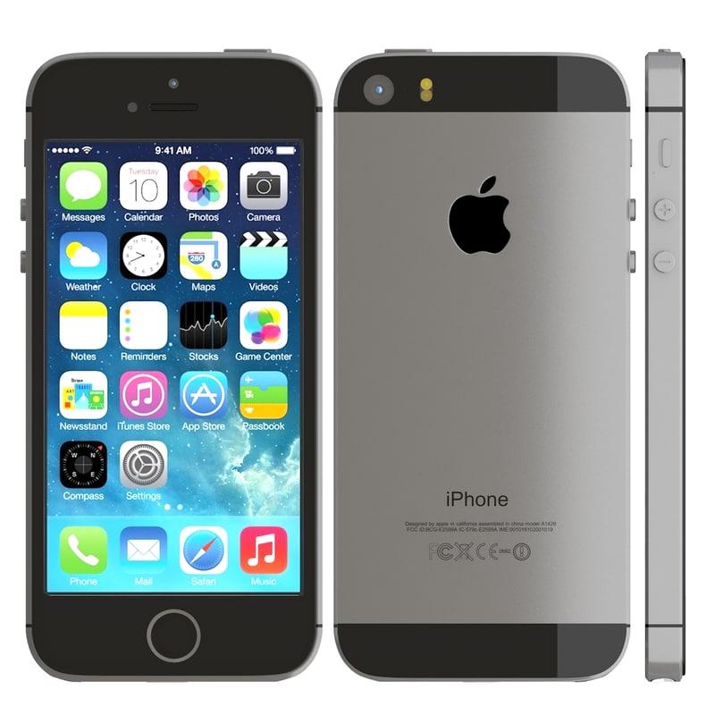 apple iphone 5s gray max