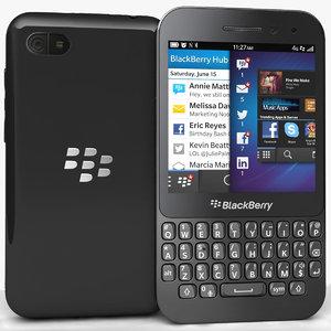 max blackberry q5 black
