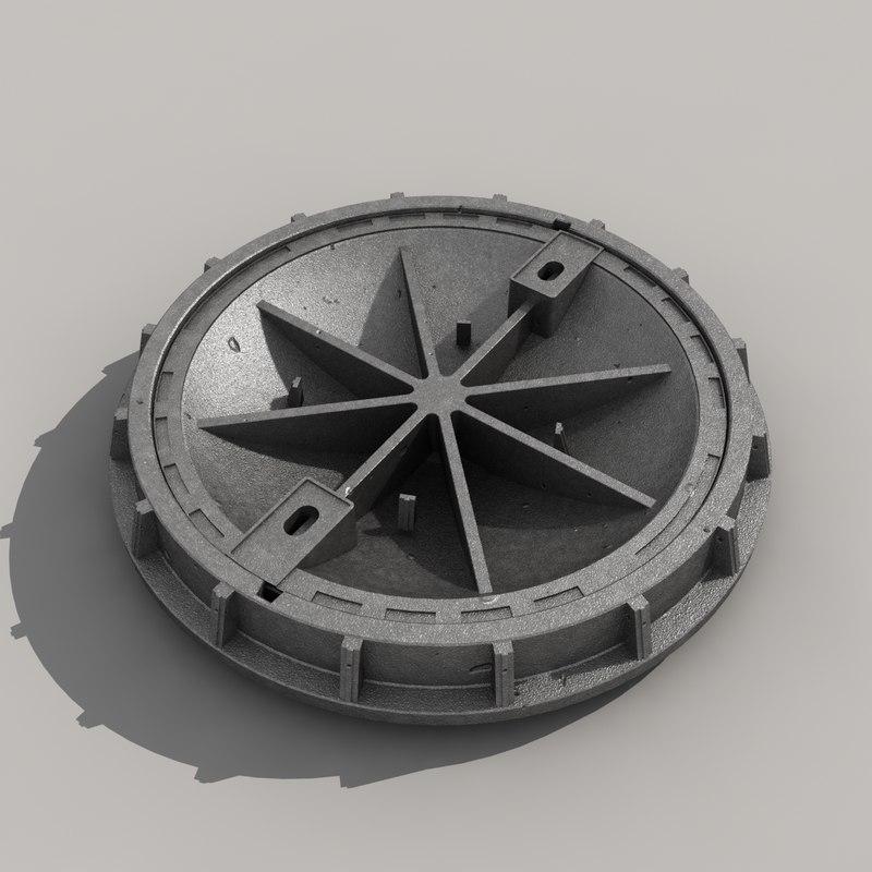 3d model hatch