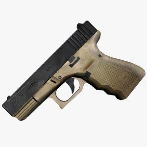 glock 19 3d max