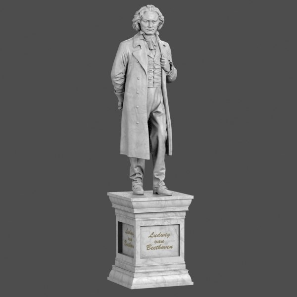 max statue beethoven