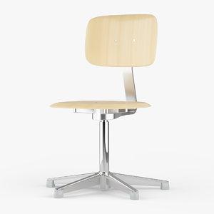 3d school chair 2186 embru model