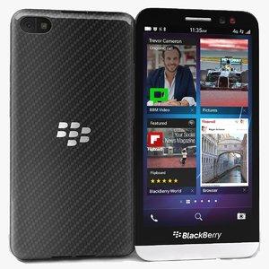 3d model blackberry z30