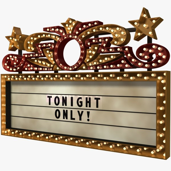 old marquee 3d 3ds