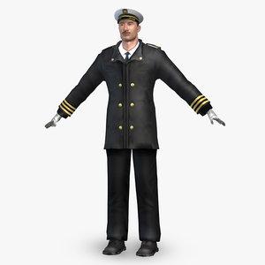 3d captain uv