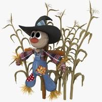 Plush Style Scarecrow