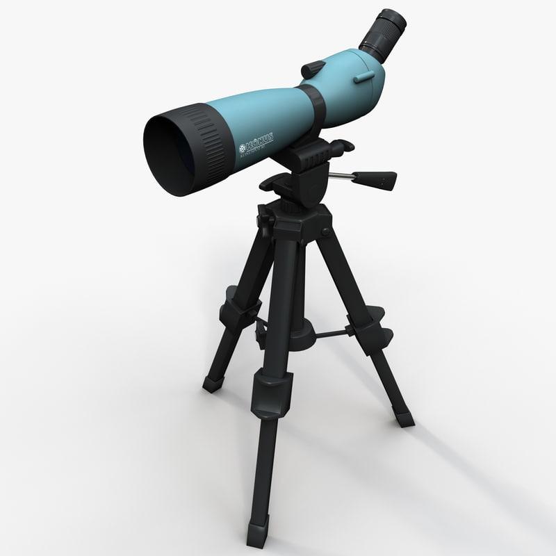 3d spotting scope konus 7120