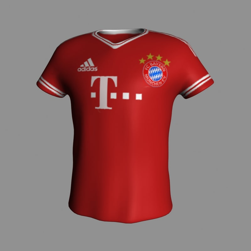 3d model bayern -shir