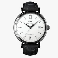 IWC Portofino Automatic White-virtual 3d model