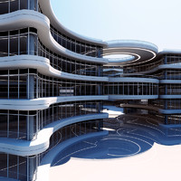 building structure 3d x