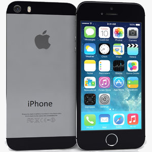 apple iphone 5s black 3ds