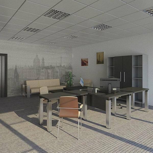 office design 3d fbx