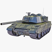 al-zarrar pakistan main battle tank c4d