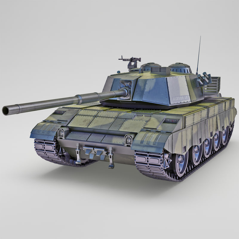 al-zarrar pakistan main battle tank c4d
