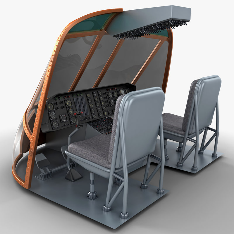 c4d helicopter cockpit