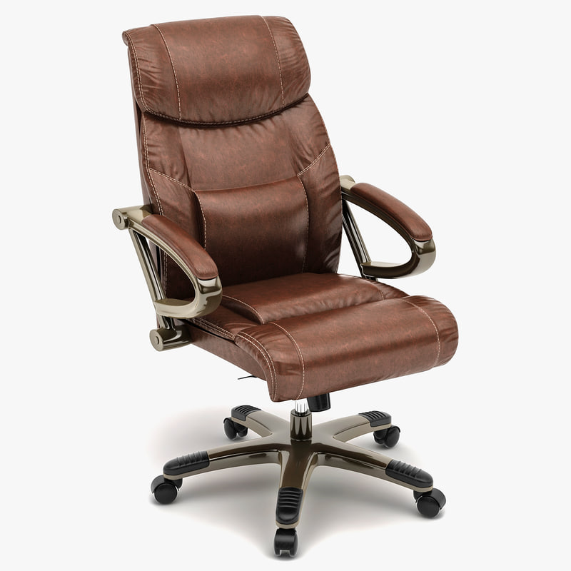 leather executive chair 3d