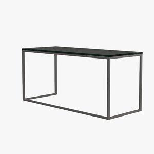 max living room table glass