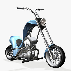 minichopper motorcycle 3ds
