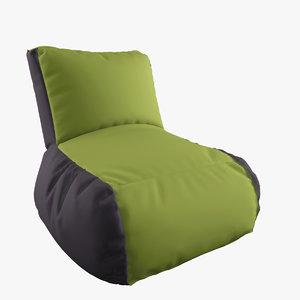 3ds max pouf lazy