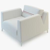 white armchair bernhardt