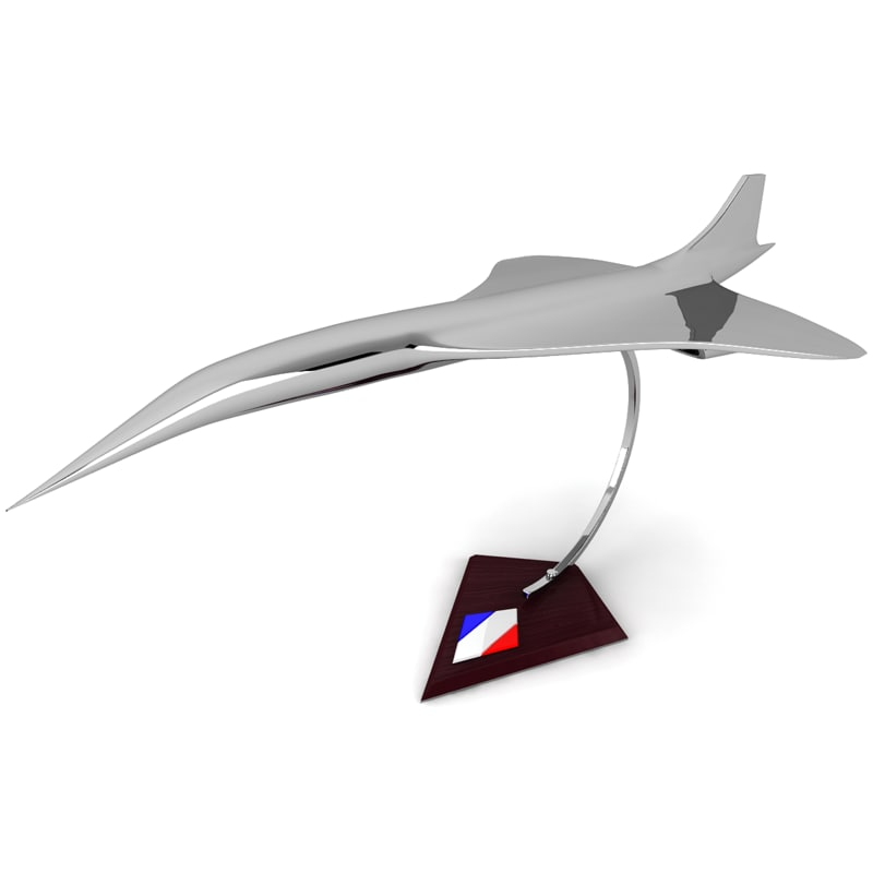decorative airplane 3d model