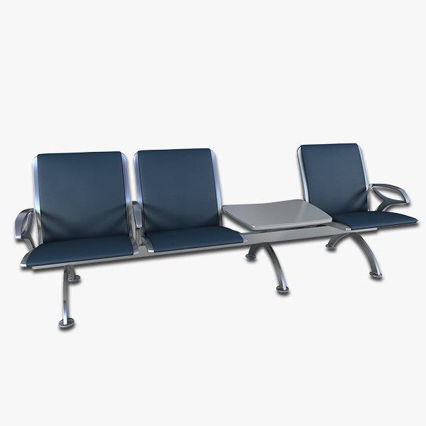 max airport seating
