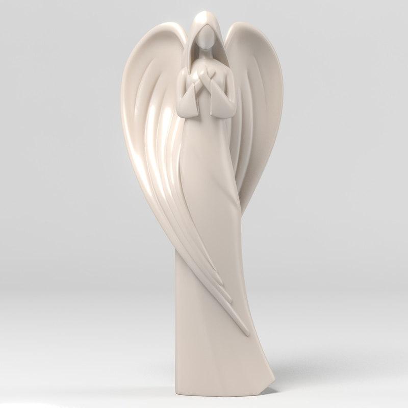 max christmas angel statue