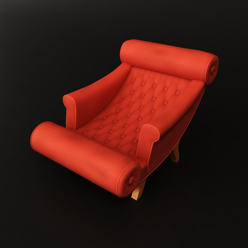 max adolf loos chaise lounge