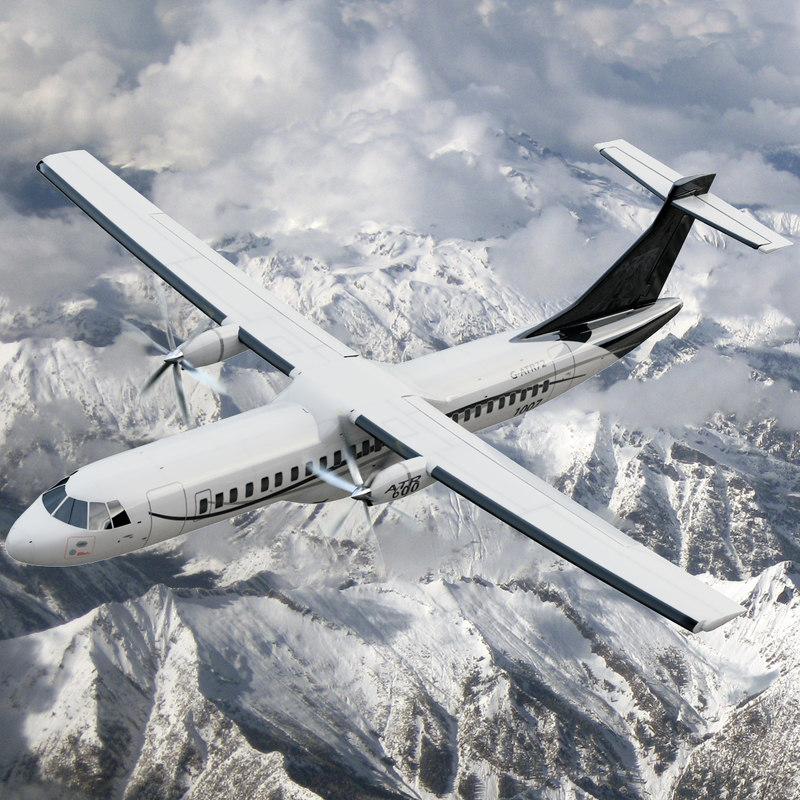 3d atr airplane model