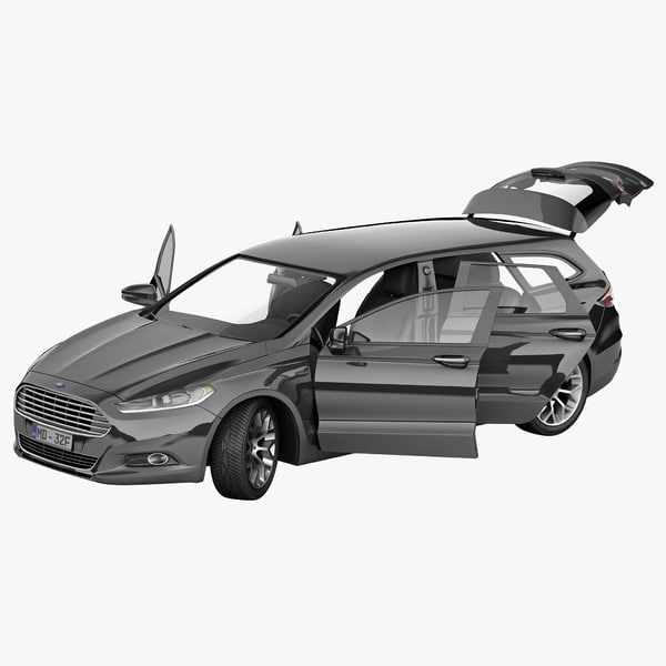 3ds max mondeo 2013 wagon rigged