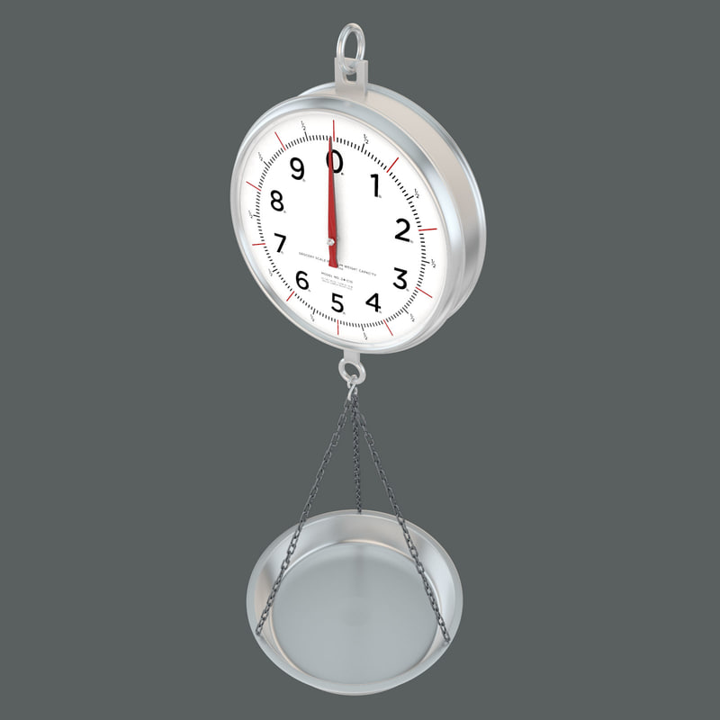 3ds max hanging scale