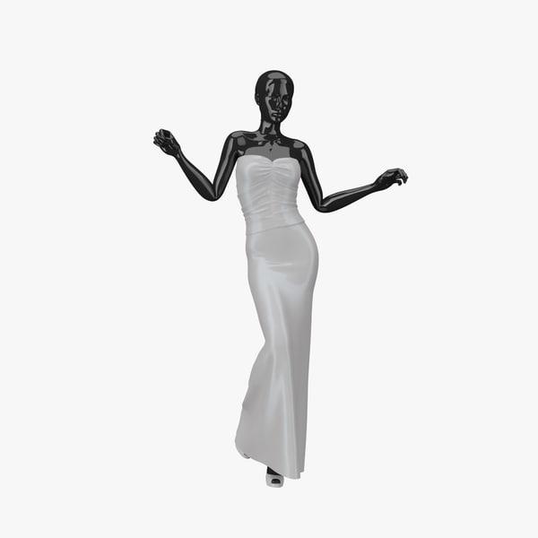 showroom mannequin 030 3d model