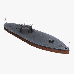 ship uss monitor max